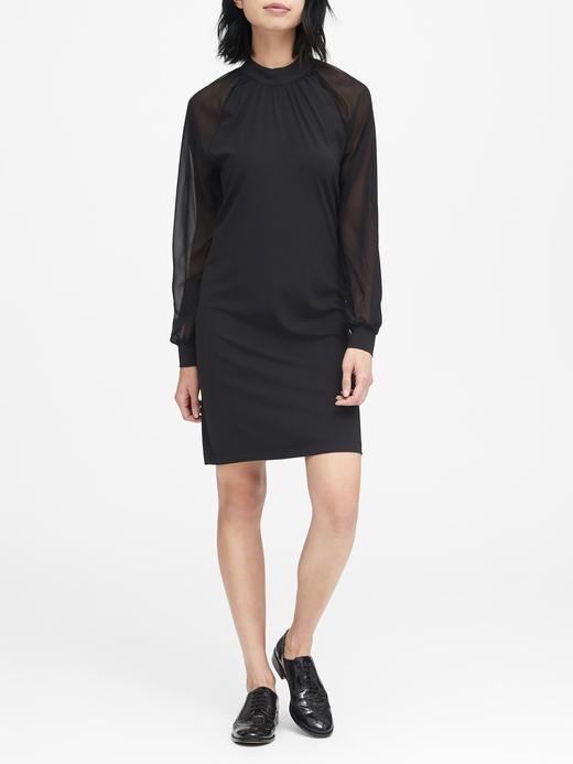 Soft Ponte Shift Elbise
