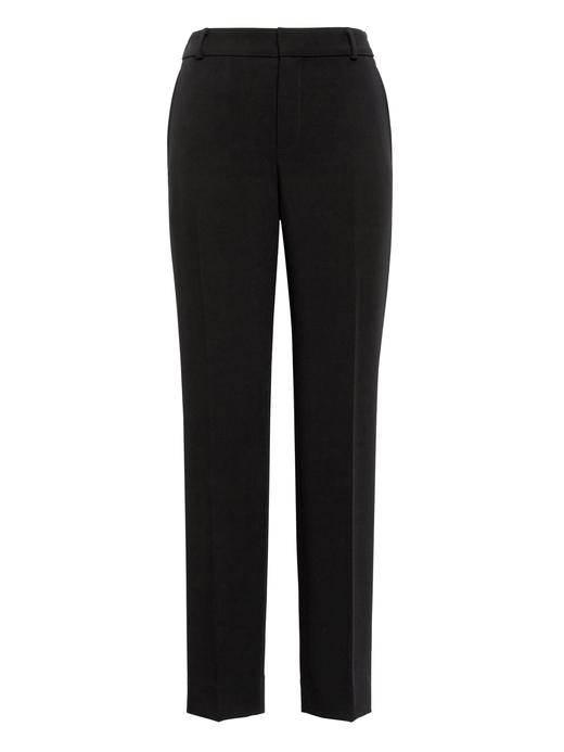 Avery Straight-Fit Bilekte Pantolon