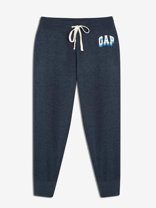 Kadın kırçıllı lacivert Kadın Gap Logo Eşofman Altı
