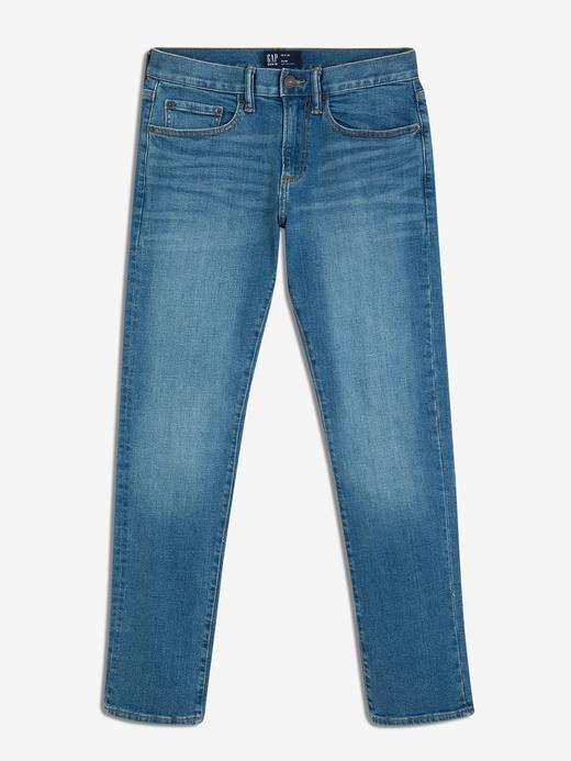 Erkek açık mavi Slim Fit Jean