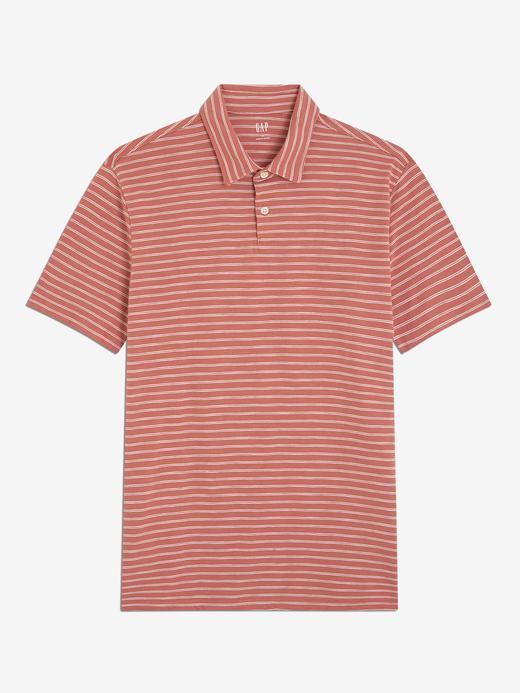 Kısa Kollu Jersey Polo T-Shirt