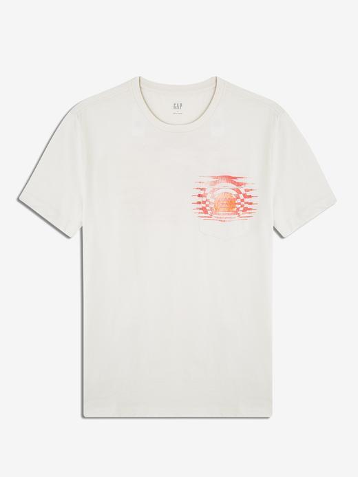 Erkek Kısa Kollu Cepli T-Shirt