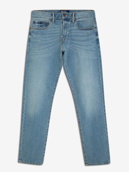Erkek açık mavi Erkek Slim Fit Jean