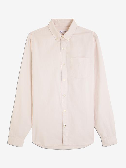 Erkek Uzun Kollu Oxford Gömlek