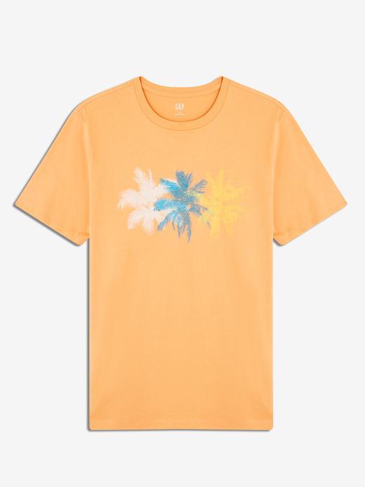 Erkek Kısa Kollu Grafik T-Shirt