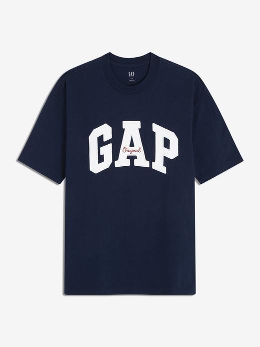 Erkek Kısa Kollu Gap Logo T-Shirt
