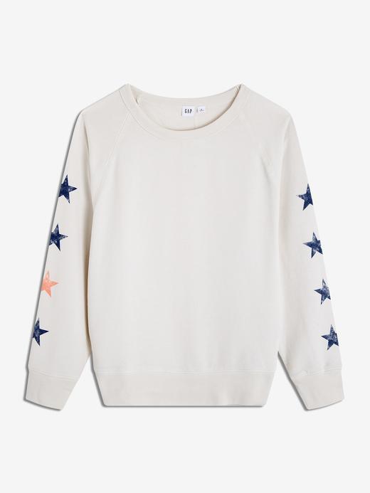 Kadın Vintage Grafik Sweatshirt