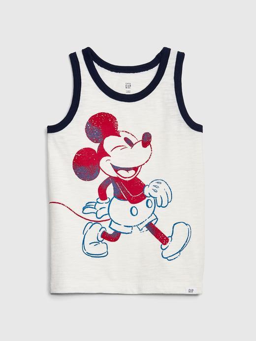 Bebek kırık beyaz Erkek Çocuk Mickey Mouse Atlet