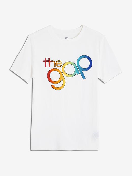 Erkek Çocuk Gap Logo Kısa Kollu T-Shirt