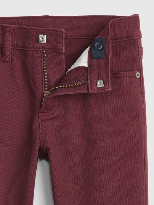 Erkek Çocuk Kırmızı Superdenim Slim Jean Pantolon