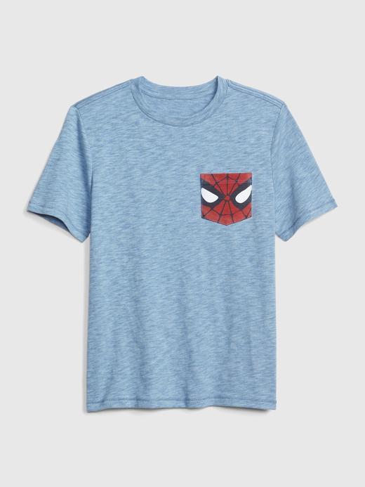 GapKids Marvel Kısa Kollu T-shirt
