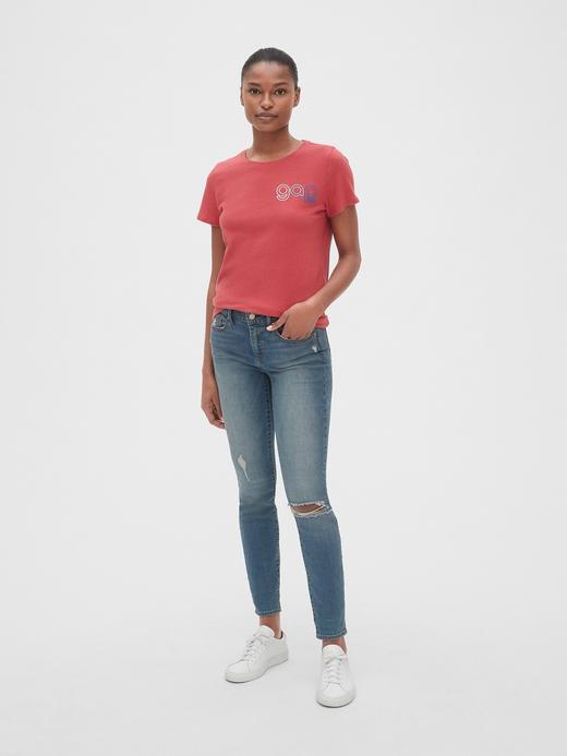 Kadın Kısa Kollu Logo T-shirt