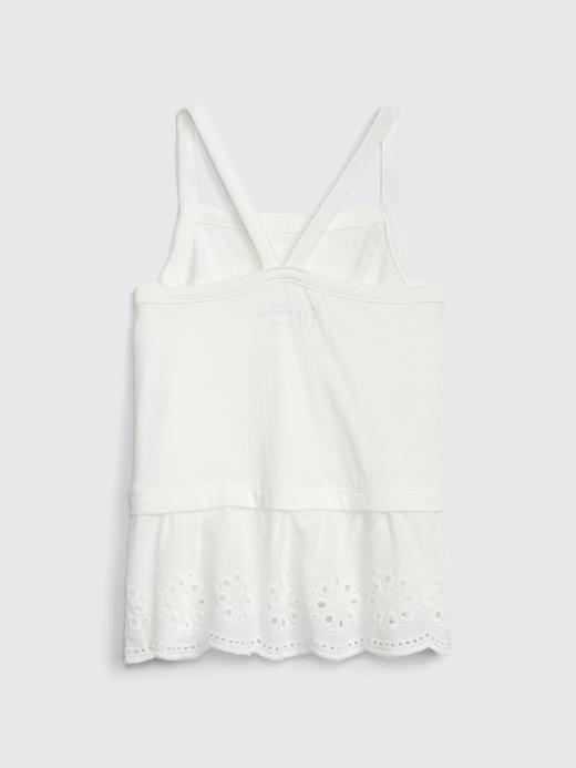 Kız Bebek Askılı Bluz