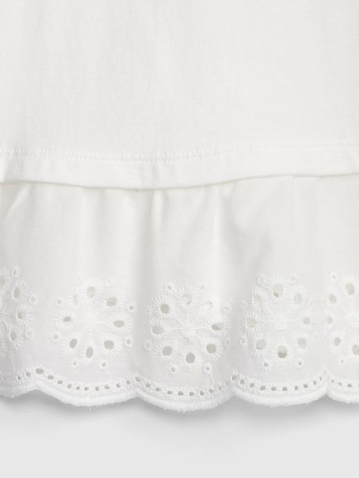 Bebek açık gri Kız Bebek Askılı Bluz