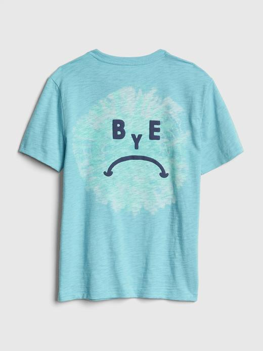 Erkek Çocuk Grafik Kısa Kollu T-shirt