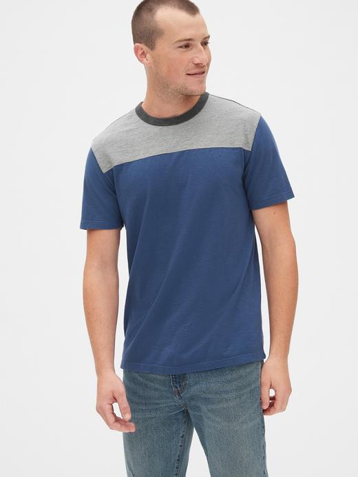 Erkek Vintage Kısa Kollu T-Shirt