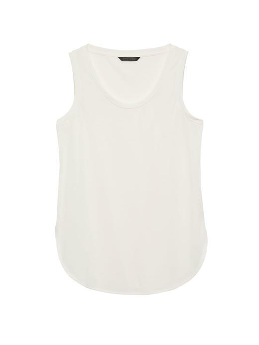 Kadın beyaz Kolsuz Bluz
