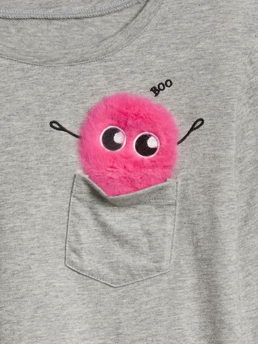 Grafik Uzun Kollu T-Shirt
