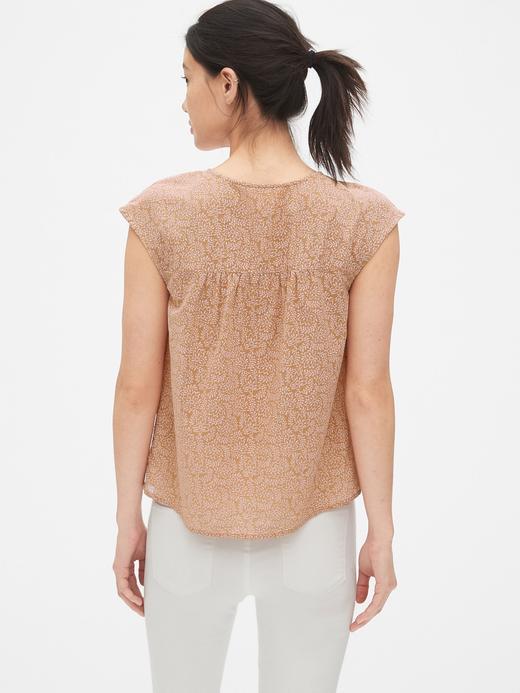 Kadın bordo Kadın V Yaka Kolsuz Bluz