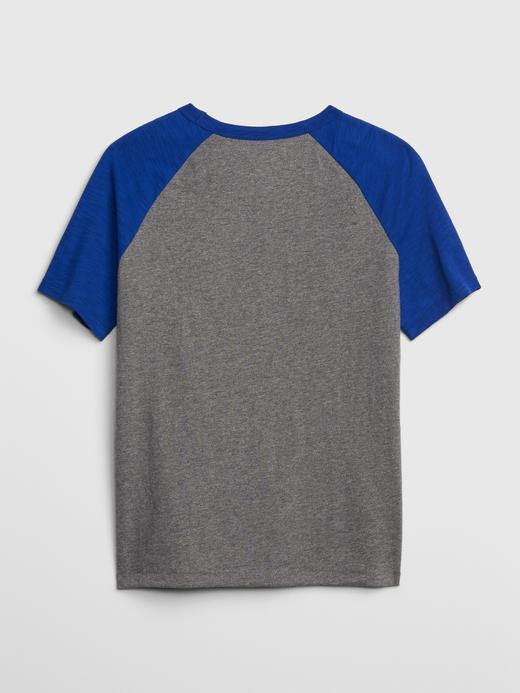 Erkek Çocuk Pullu T-Shirt