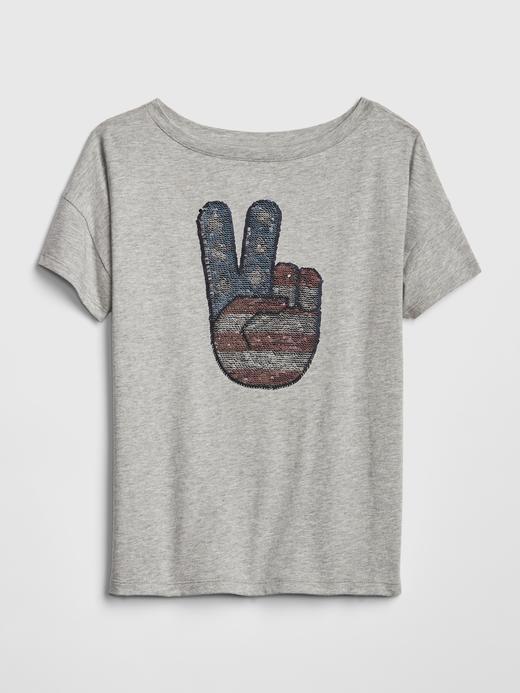 Kız Çocuk bej Kız Çocuk Pullu T-Shirt
