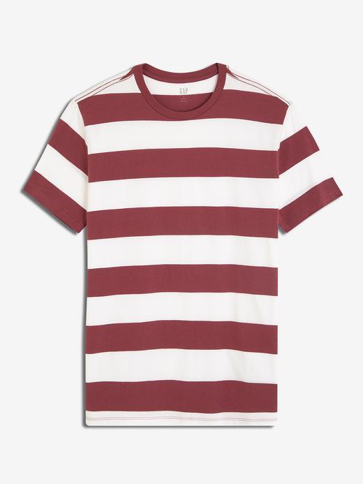 Erkek gül kurusu Erkek Kısa Kolu Sıfır Yaka T-Shirt