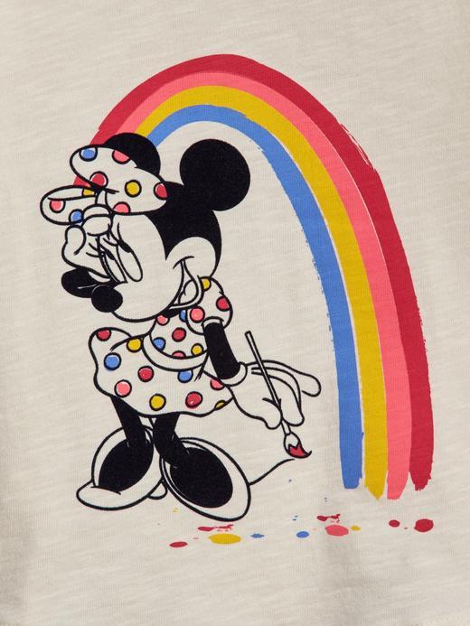 Bebek renkli babyGap | Disney Minnie Mouse T-Shirt