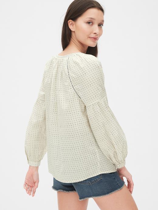Kadın Desenli Bluz