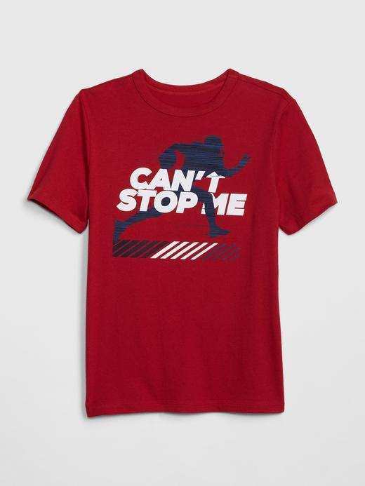 Erkek Çocuk kırmızı Erkek Çocuk Kısa Kollu T-shirt