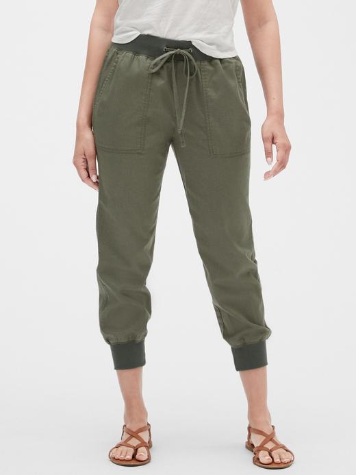 Kadın Yeşil Kadın Jogger Pantolon