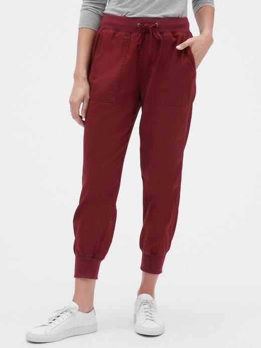 Kadın Kırmızı Kadın Jogger Pantolon