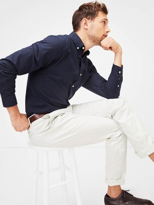 Erkek lacivert Oxford Gömlek