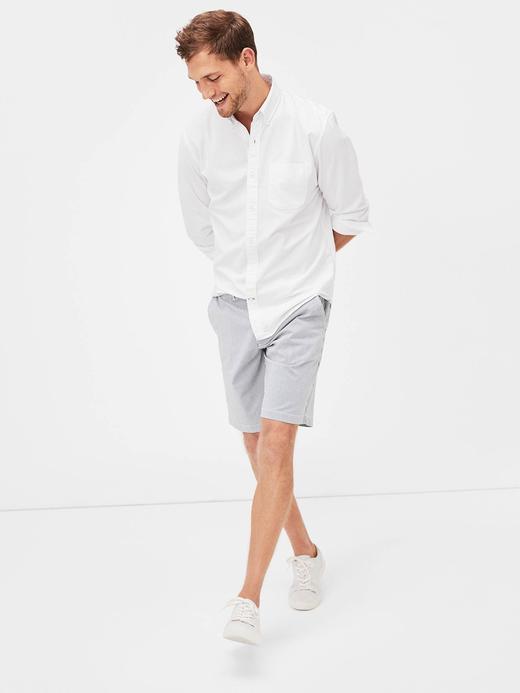 Erkek beyaz Erkek Oxford Gömlek
