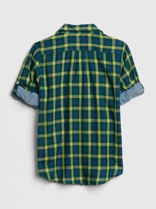 Erkek Çocuk Çift Taraflı Gömlek