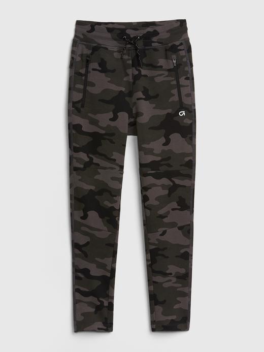 Erkek Çocuk siyah Çocuk GapFit Jogger Pantolon