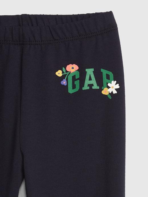 Kız Bebek Gap Logo Tayt