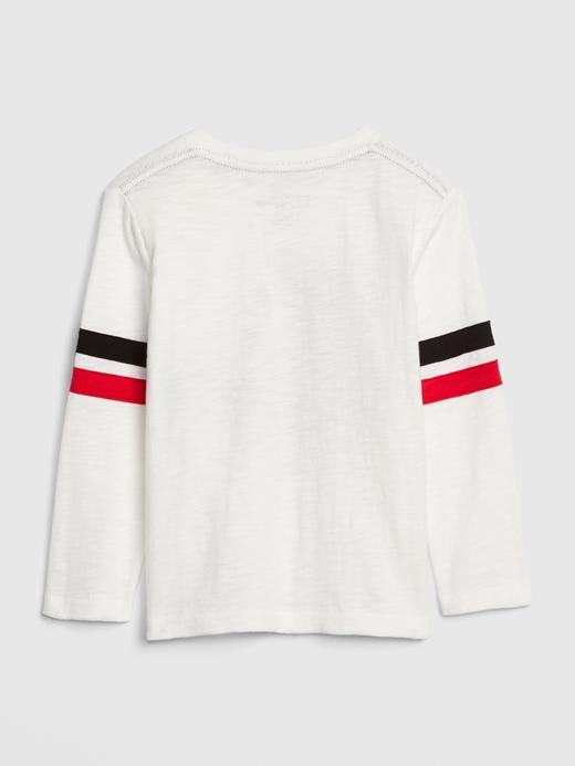 Bebek kırık beyaz babyGap | Disney Mickey Mouse T-shirt
