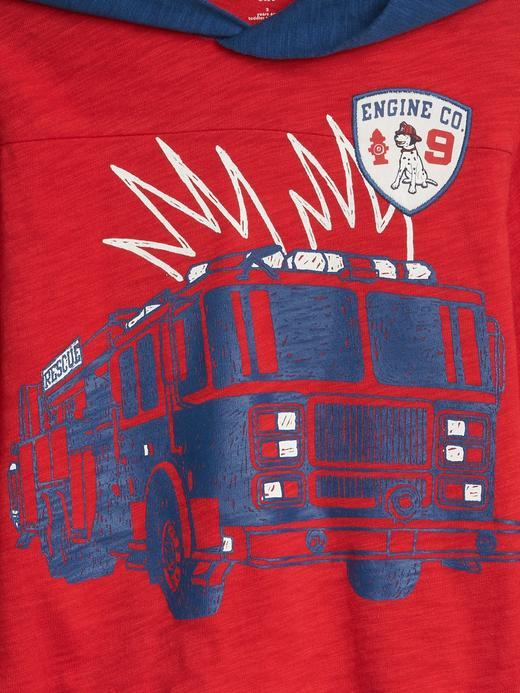 Erkek Çocuk Kapüşonlu T-shirt