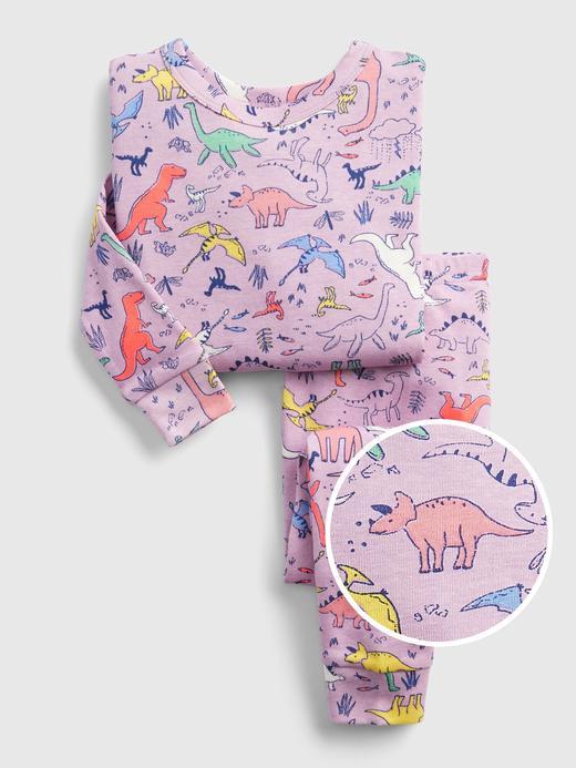 babyGap Dinazor Desenli Pijama Takımı