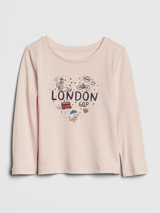Bebek london Kız Bebek Grafik T-shirt