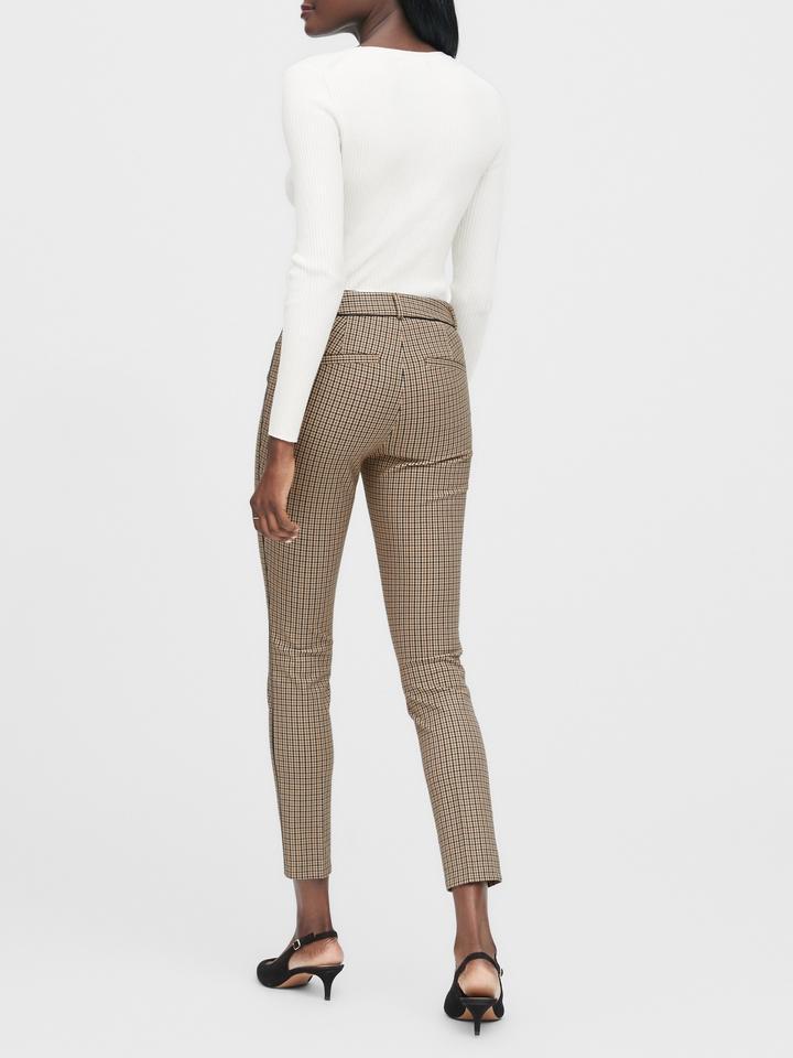 Kadın Koyu kahverengi Skinny-Fit Pantolon