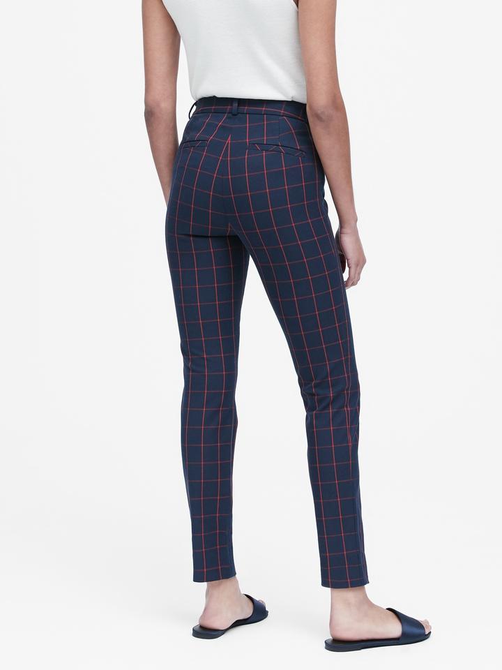 Kadın lacivert Skinny-Fit Pantolon