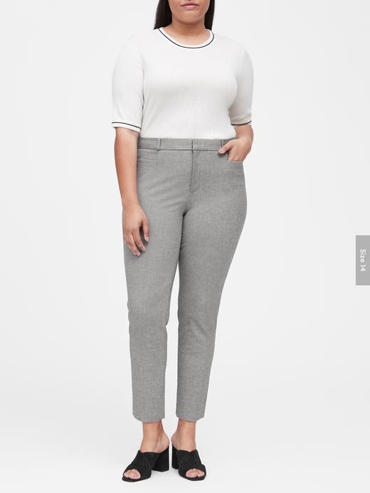 Kadın koyu gri Skinny-Fit Pantolon