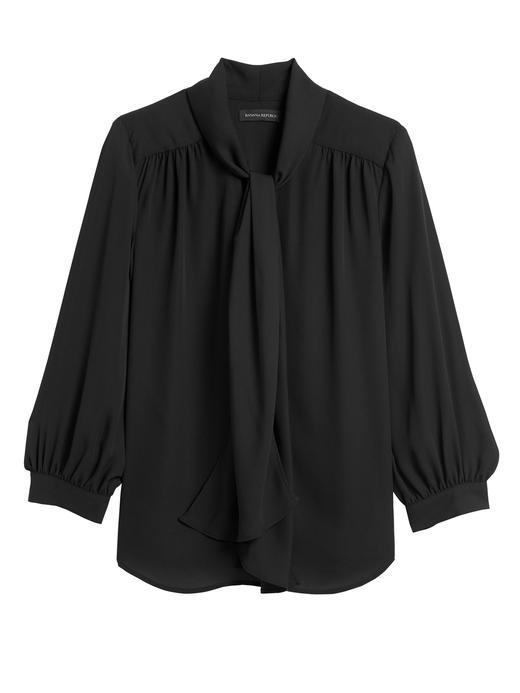Bağlama Detaylı Uzun Kollu Bluz
