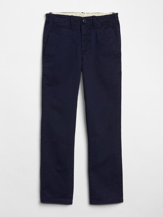Erkek Çocuk lacivert Streç Chino Pantolon