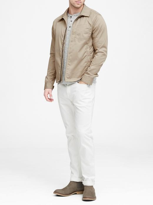 Erkek Bej Rüzgarlık Kısa Ceket