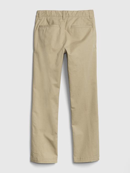 Erkek Çocuk koyu lacivert Straight Khaki Pantolon