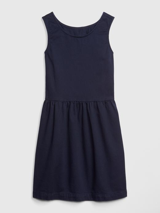 Pamuklu Kolsuz Elbise