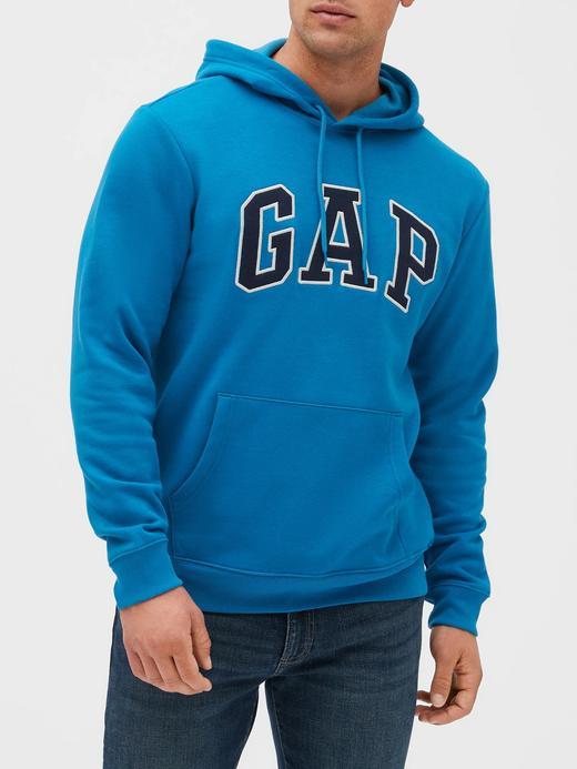 Erkek koyu mavi Gap Logo Sweatshirt