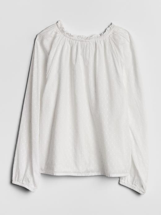 Raglan Fırfırlı Yaka Bluz